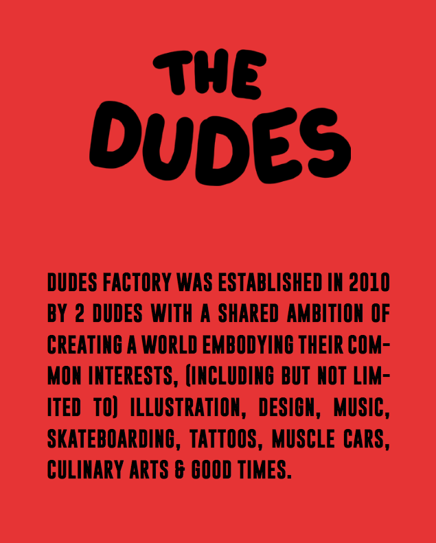 the dudes about