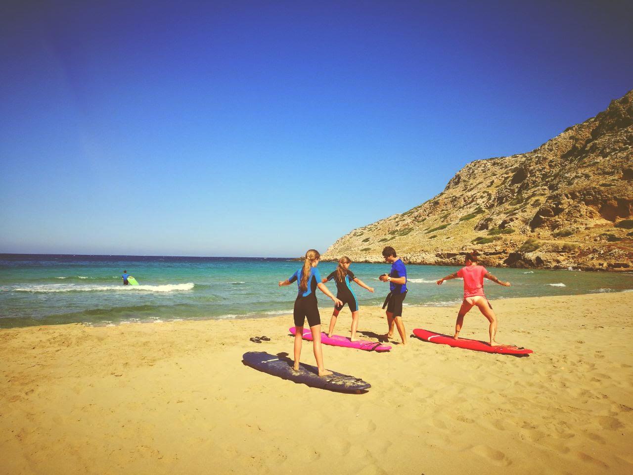 surfing-lessons karpathos